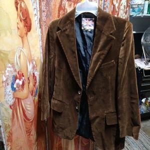 Beautiful vintage vulor brown jacket